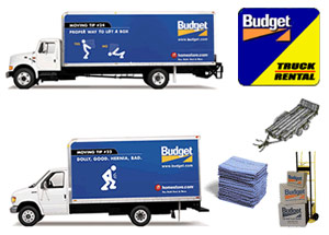Budget Truck Rental and Moving Supplies